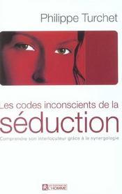 Les codes inconscients de la séduction - Intérieur - Format classique