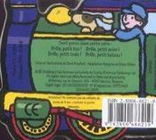 Brille, petit train ! - 4ème de couverture - Format classique