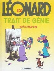 Léonard t.12 ; trait de génie - Intérieur - Format classique