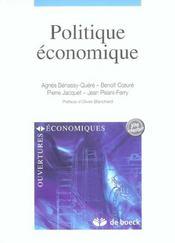 Politique Economique - Intérieur - Format classique