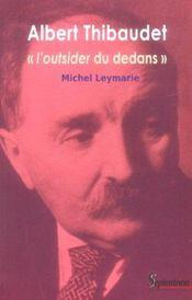 Albert Thibaudet - Intérieur - Format classique