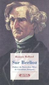 Sur Berlioz - Couverture - Format classique