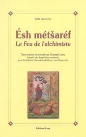 Esh Metsaref Le Feu Alchimique - Intérieur - Format classique