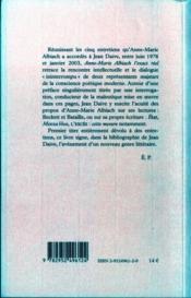 Anne-marie albiach exact reel - 4ème de couverture - Format classique