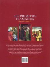 Les primitifs flamands ; les chefs d'oeuvres - 4ème de couverture - Format classique