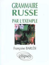Grammaire Russe Par L'Exemple - Intérieur - Format classique