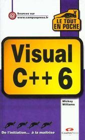 Visual C++ 6 - Intérieur - Format classique