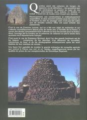 Cabanes en pierre sèche de France - 4ème de couverture - Format classique
