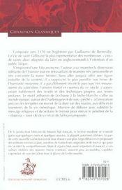 La vie de saint Gilles - 4ème de couverture - Format classique