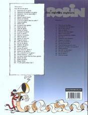 Léonard t.13 ; génie en herbe - 4ème de couverture - Format classique
