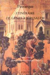 Itineraire De Genes A Jerusalem Et A La Terre Sainte - Intérieur - Format classique
