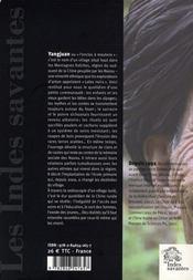 L'Enclos A Moutons ; Un Village Nuosu Du Sud-Ouest De La Chine - 4ème de couverture - Format classique