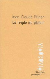 Le triple du plaisir - Couverture - Format classique