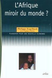 L'Afrique, Miroir Du Monde - Intérieur - Format classique