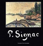 P. Signac - Couverture - Format classique