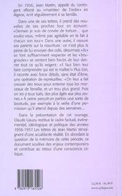 Algerie 1956 : Pacifier. Tuer - 4ème de couverture - Format classique