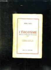L Erotisme Dans La Litterature Etrangere. Essai. - Couverture - Format classique