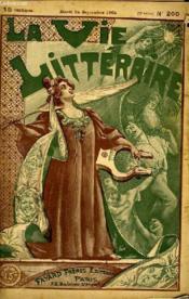 Soir De Banlieue. Chapitre D'Une Vie D'Artiste. La Vie Litteraire. - Couverture - Format classique