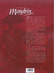 Mandrin - 4ème de couverture - Format classique