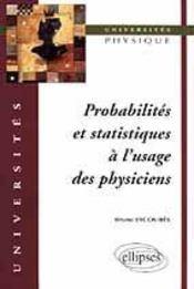 Probabilites Et Statistiques A L'Usage Des Physiciens - Intérieur - Format classique