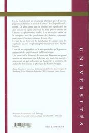 Probabilites Et Statistiques A L'Usage Des Physiciens - 4ème de couverture - Format classique