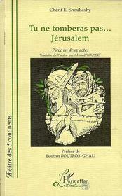 Tu Ne Tomberas Pas...Jerusalem - Couverture - Format classique