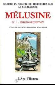 Melusine 1 Emission-Reception - Couverture - Format classique