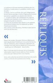 Judaisme et christianisme - 4ème de couverture - Format classique