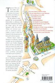 Paris Buissonnier ; Promenades De Charme Pour Traverser La Capitale Hors Des Sentiers Battus - 4ème de couverture - Format classique