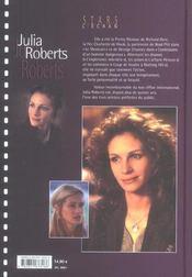 Julia Roberts - 4ème de couverture - Format classique