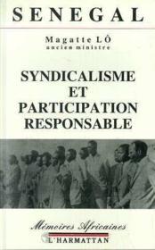 Sénegal ; syndicalisme et participation responsable - Couverture - Format classique