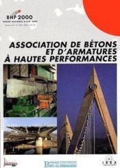 Association de bétons et d'armatures à hautes performances - Couverture - Format classique