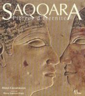 Saqqara, pierres d'eternite - Couverture - Format classique