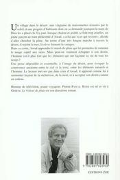 Voleur De Pluie (Le) - 4ème de couverture - Format classique