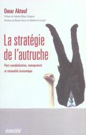 Strategie De L'Autruche (La) - Intérieur - Format classique