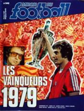 Miroir Du Football N°342 du 16/07/1979 - Couverture - Format classique