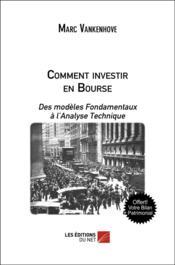 Comment investir en bourse - Couverture - Format classique