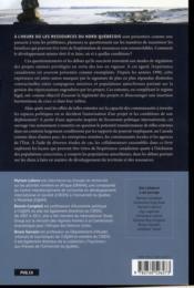 Pouvoir et régulation dans le secteur minier - 4ème de couverture - Format classique