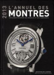 Annuel Des Montres 2013 - Couverture - Format classique