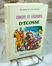 Contes et légendes d'écosse. - Couverture - Format classique