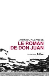 Le roman de Don Juan - Couverture - Format classique