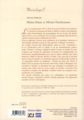 Généalogies du romantisme musical français - 4ème de couverture - Format classique