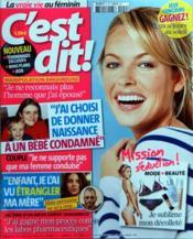C'Est Dit N°9 du 01/04/2011 - Couverture - Format classique