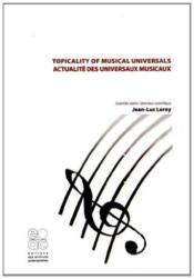 Vente  Topicality of musical universals / actualites des univers musicaux  - Collectif