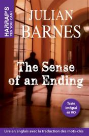 Vente livre :  The sense of an ending  - Julian Barnes