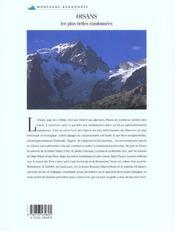 Oisans - 4ème de couverture - Format classique