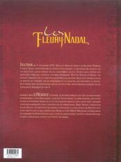 Les Fleury-Nadal t.1 ; Ninon - 4ème de couverture - Format classique