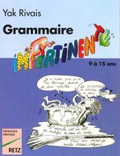 Grammaire impertinente 7-12 ans - Intérieur - Format classique