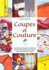 Coupes Et Couture - Intérieur - Format classique