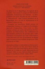 L'Info-Pouvoir - 4ème de couverture - Format classique